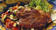 Kotlett till middag får Alla hjärtans dag att falla ut väl