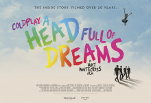 "Historien om Coldplay – Dokumentären ""A Head Full Of Dreams"" exklusivt på bio 14 november"