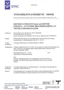 Nytt typgodkännande för ventilationsisolering