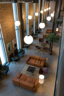 Industriell elegans på The Winery Hotel