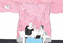 Curator Vasco Forconi invites artist Stefano Serretta to interact with legendary architect Gio Ponti