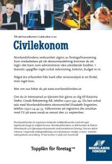 Norrlandsfonden söker medarbetare!