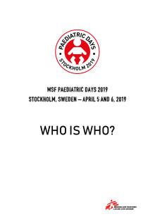 Talarlista - Läkare Utan Gränsers konferens i pediatrik