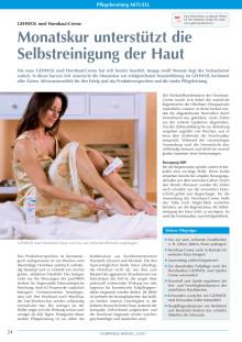 GEHWOL med Hornhaut-Creme: Monatskur unterstützt die Selbst reinigung der Haut
