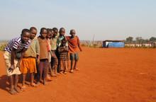 Humanitär kris för burundiska barn på flykt