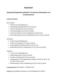 Standort Regensburg - Daten und Fakten