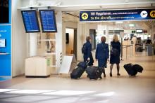Fortsatt tillväxt av flygresenärer i augusti