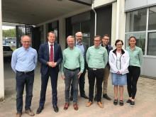 Energiminister, Anders Ygeman, på besök hos Energiförbättring.