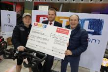 Santander spendet 24 000 Euro  im Rahmen des RTL-Spendenmarathon