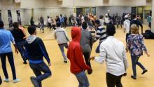 Studentidrotten anordnar träning för nyanlända ungdomar