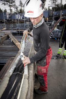 Rask og effektiv muring med maskinelt utstyr