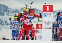 Ingrid Landmark Tandrevold på 5. plass på jaktstarten