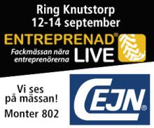 Välkommen till vår monter på Entreprenad Live!