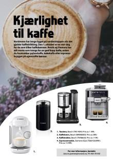 Kjærlighet til kaffe