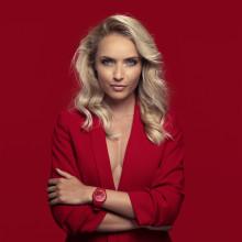 ICE GLAM RED – dristig klokke nyhet fra Ice-Watch