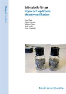 Rapport: Mätteknik för att styra och optimera deammonifikation (avlopp)