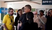 Obamas digitale vaktbikkje