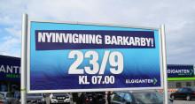 Historisk jubileumsinvigning i Barkarby