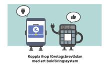 """""""Företagspost direkt in i Fortnox via Kivra"""""""