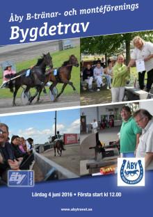 Program Bygdetrav Åby 160604