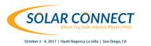 Infocast's Solar Connect 2017