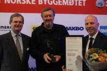 Byggenæringens Ærespris 2019 til Kjetil Thorsen fra Snøhetta