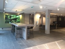 Vår senaste installation med kösystem på SEB´s nyöppnade kontor vid Norrmalmstorg