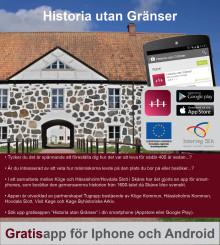 Ny kulturhistorisk app släpps inför turistsäsongen