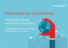 Creditsafe International Capabilities - Guide