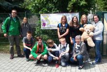 Sponsorenlauf im Wiprecht Gymnasium: Schüler erlaufen 5.400 Euro für Bärenherz