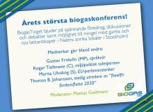 BiogasTinget 2013 - 4 december i Stockholm!