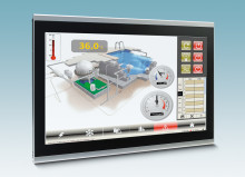 Robust Panel PCs with multi-touch