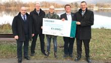 """Lindorff unterstützt das Projekt """"Fischer machen Schule"""""""
