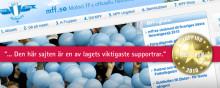 Mff.se utnämnd till Sveriges bästa föreningssajt 2010 av Internetworld!