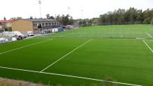 Sollentuna först i Sverige med nytt miljövänligt konstgräs på fullstor fotbollsplan