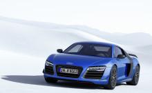 Audi R8 LMX – världens första serietillverkade bil med laserstrålkastare