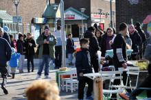 Gatufest på Lindängen mot kriminalitet och våld