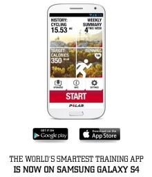 Polar Beat - nu även tillgänglig för Samsung Galaxy S4