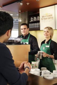 Starbucks öppnar idag på Stockholm-Arlanda Airport