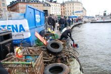 Narkotika funnet i Stockholmsvatten vid tävlingen Skräpdyket 2009