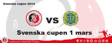 HuFF vs GIF Sundsvall i Svenska Cupen 1 mars
