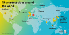 Smart City Index: Vienna and London lead the worldwide ranking