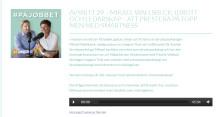 Mikael Wallsbeck gästade podcasten #påjobbet