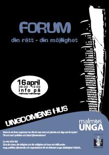 Inbjudan Malmös ungas forum