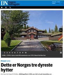 Dette er Norges tre dyreste hytter