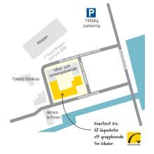 Situationsplan kvarteret Iris på Gävle strand