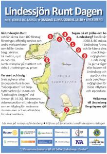 Mycket kultur på Lindessjön Runt Dagen 11 maj