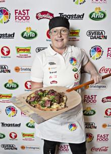 Vinnare i Pizza-SM 2014 korad - Frida Ceveryd från Varberg är Sveriges bästa pizzabagare