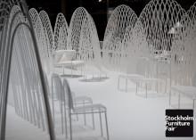 Snöbeklädda berg av Smart-X på Stockholm Furniture Fair