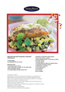 Receptfolder - Mexican Fish